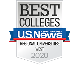 U.S. News & World Report: Best Colleges / Regional Universities in the West 2020