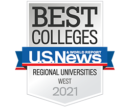 U.S. News & Wolrd Report: Best Colleges / Regional Universities in the West 2021