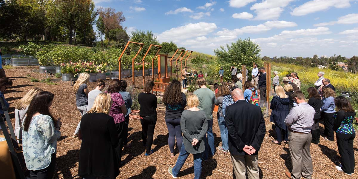 New Prayer Garden Dedicated in Irvine
