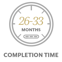 26-33 months completion time