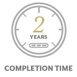 2 year completion time