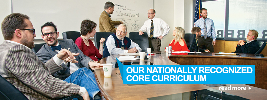 Our Nationally Recognized Core Curriculum