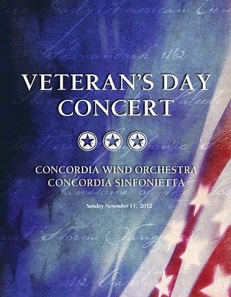 Veterans Day Concert at Concordia