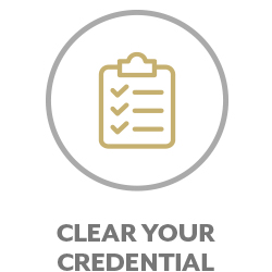Clear Your Credential
