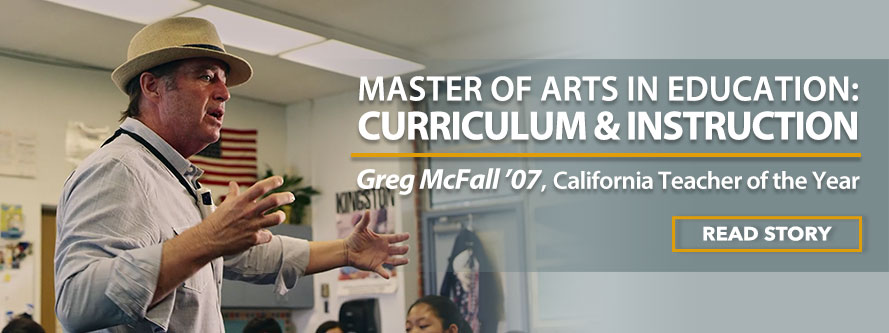 Master of Arts in Education: Curriculum & Instruction. MAED: Curriculum & Instruction Graduate