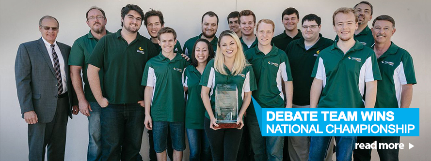 Debate Team Wins National Championship