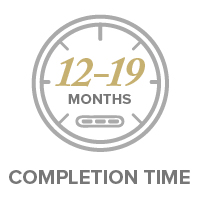 12-19 Month Completion Time