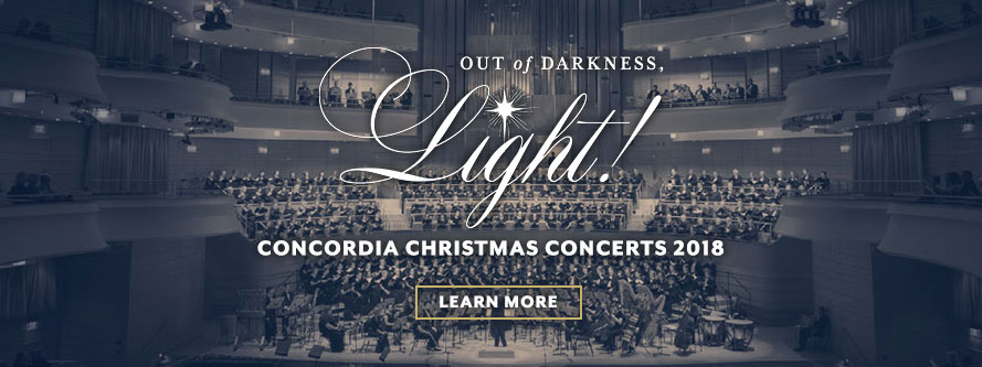 Concordia Christmas Concerts 2018