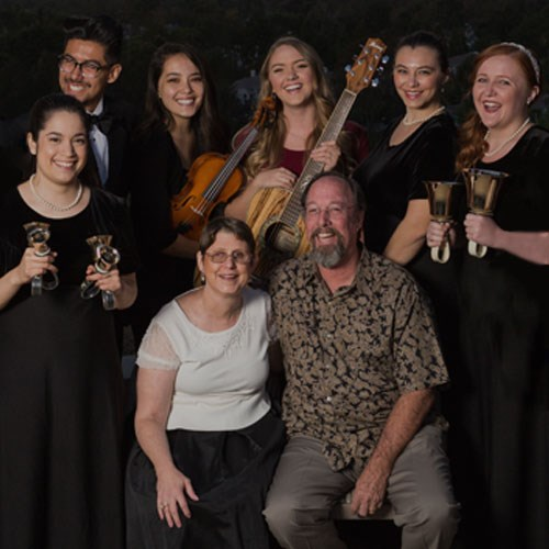 Borland and CUI music students