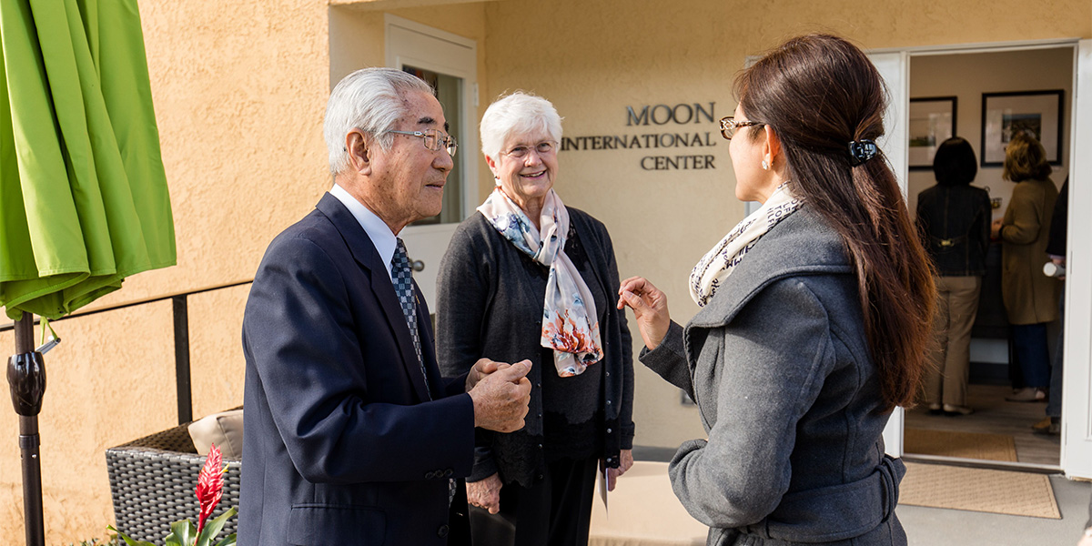 Moon Center Dedication