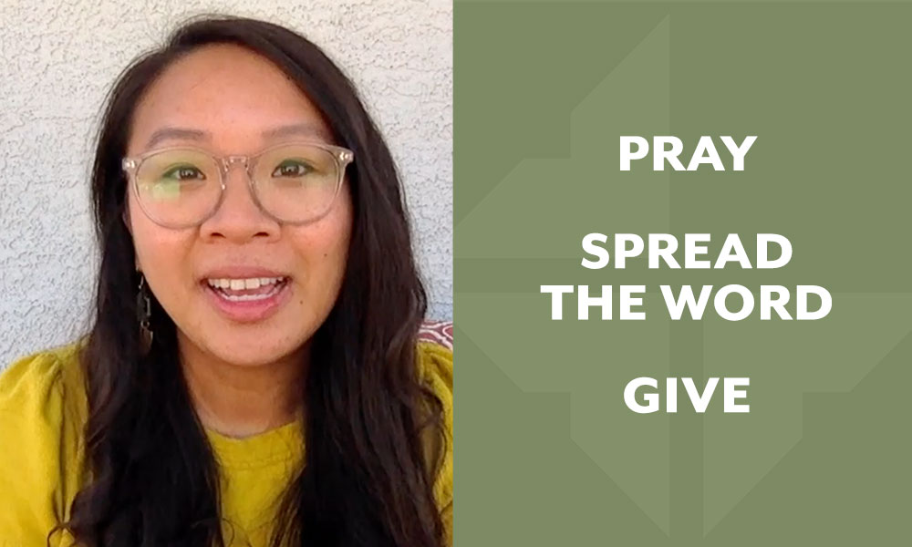 Pray | Spread the Word | Give