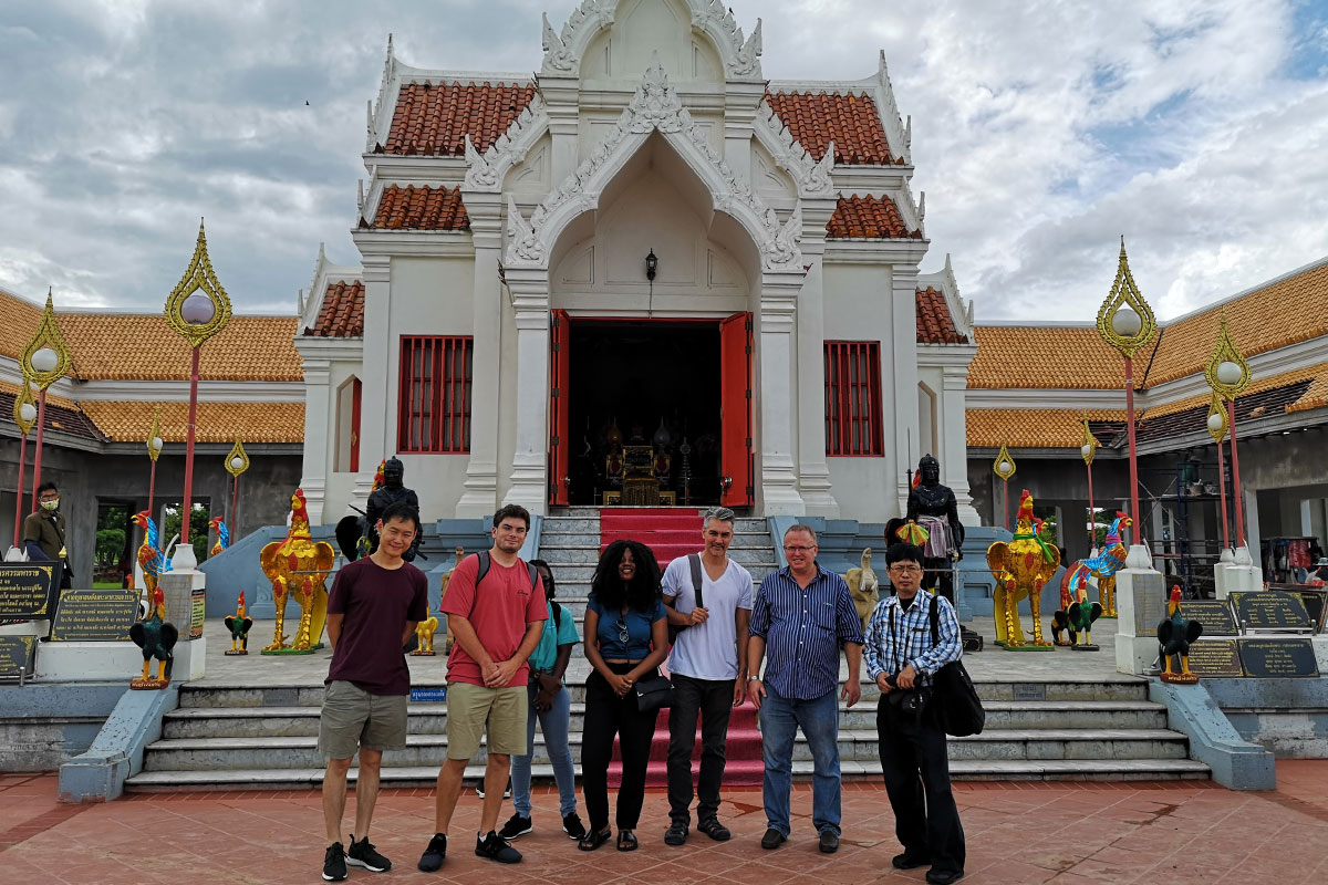 At the Great Shrine of King Naresuan, Phitsanulok City, Phitsanulok Province, northern Thailand