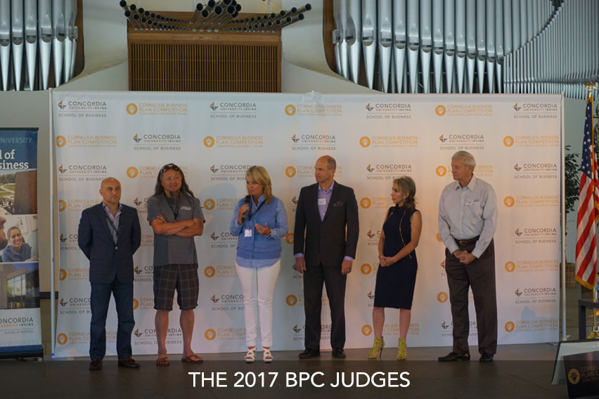 The 2017 BPC Judges