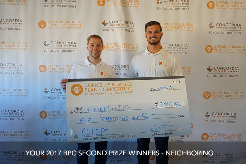 The 2017 BPC Second Prize Winners