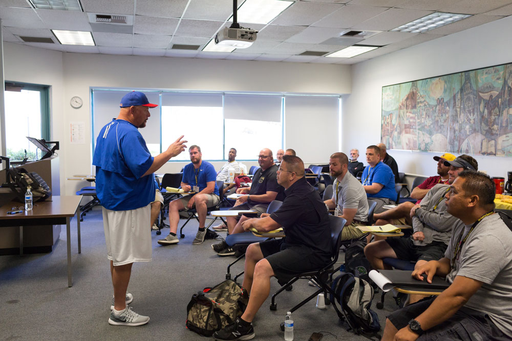 Coaches learning in the classroom