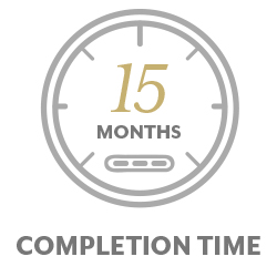 15 Month Completion Time