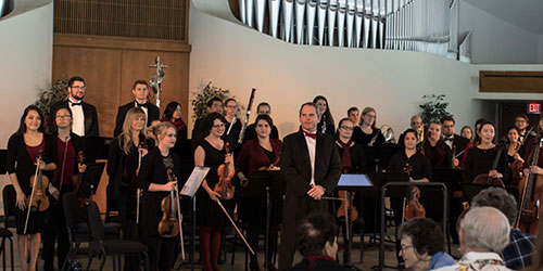Concordia Performing in CU Center for Reformation Symphony