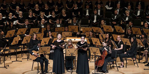 Concordia Performance at Segerstrom Concert Hall