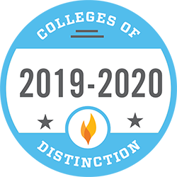 2019-2020 College of Distinction Badge