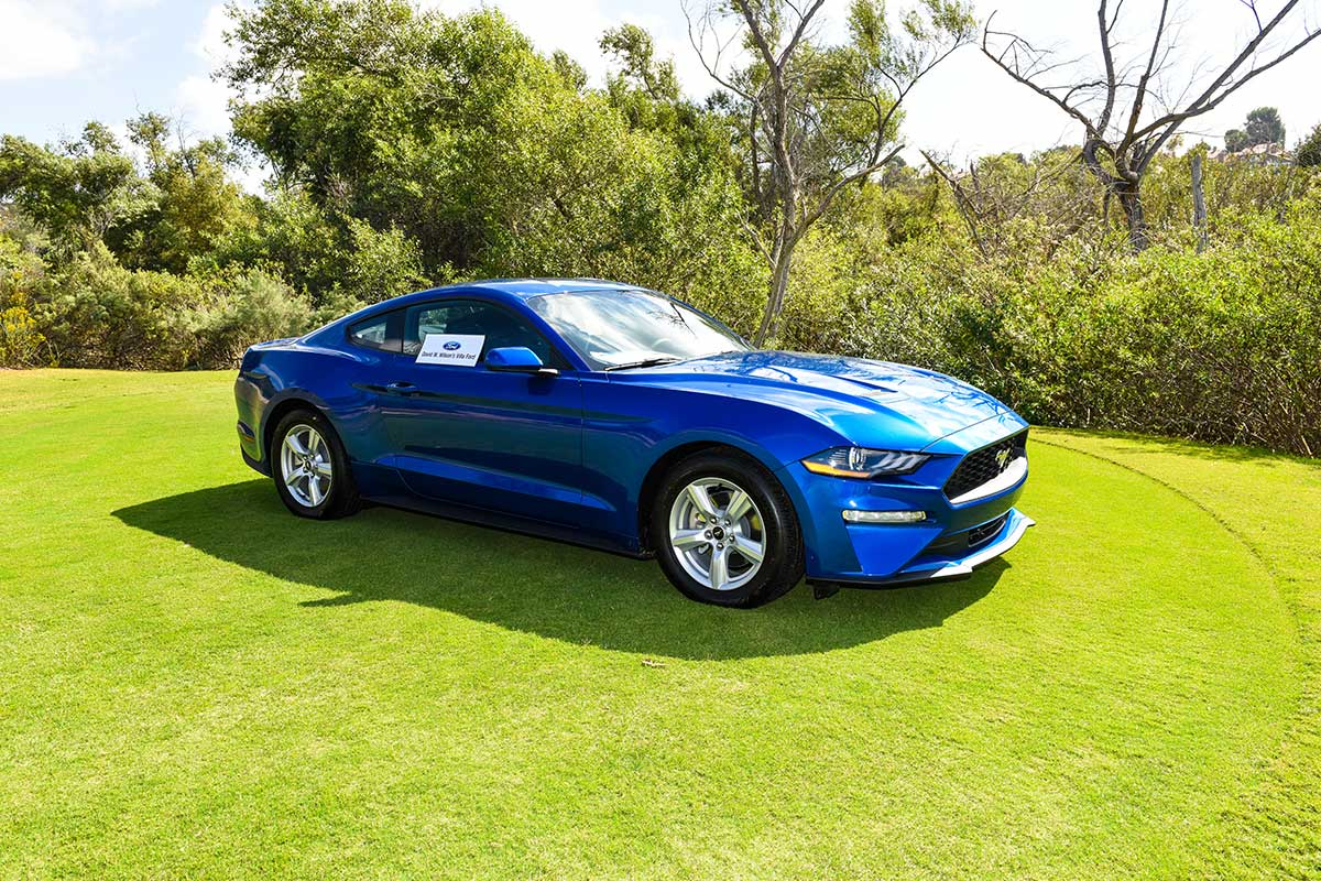 Ford Mustang prize