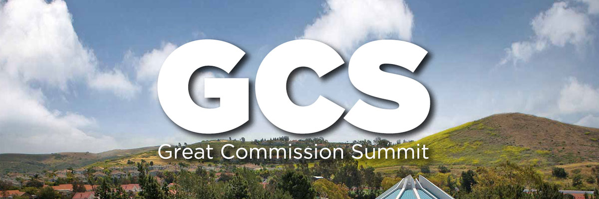 Great Commission Summit against CUI campus background