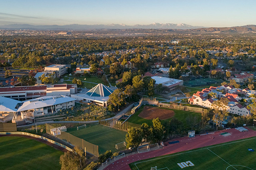 CUI Wide Angle Aerial view