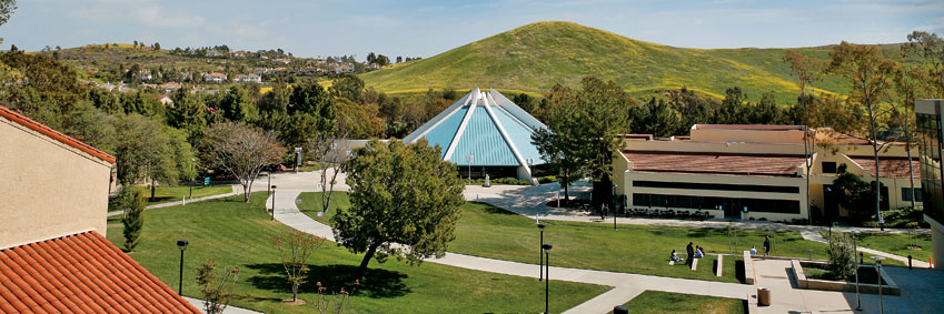 Picture of the Concordia University Irvine campus