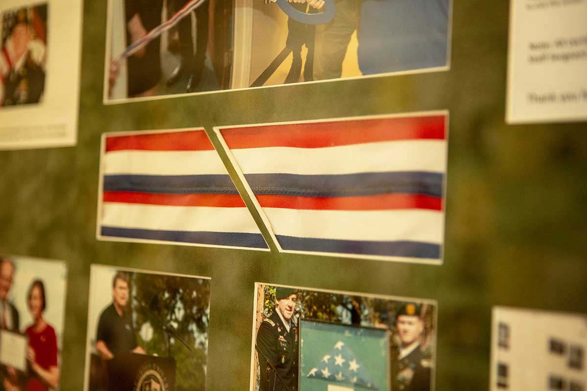 Photos of veterans in a collage