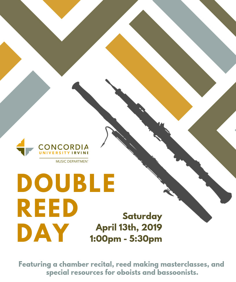 Double Reed Day Poster