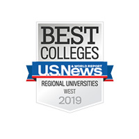 U.S. News & Wolrd Report: Best Colleges / Regional Universities in the West 2018