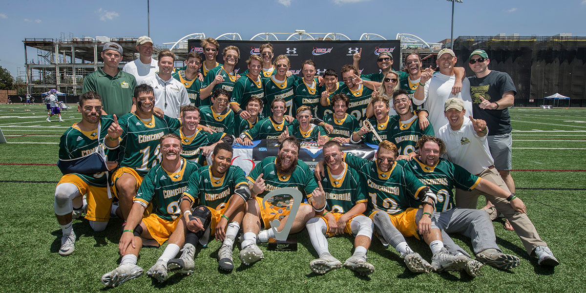 Men's Lacrosse team Won Nationals