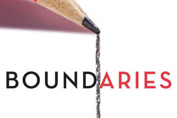 Boundaries book cover design