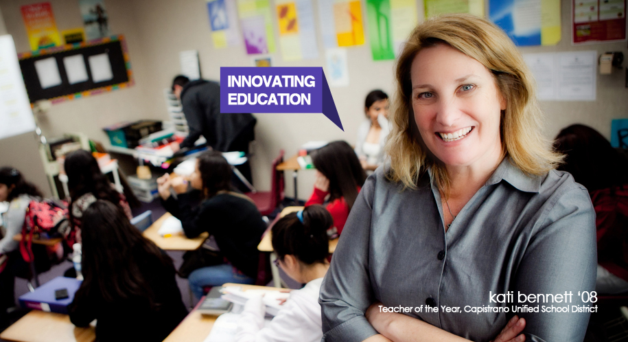 Kati Bennett innovates education